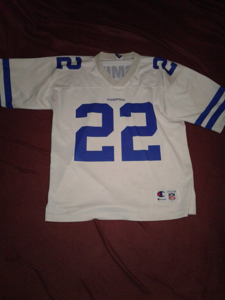 Cowboys Champion Home Jersey - E.Smith FRONT.jpg