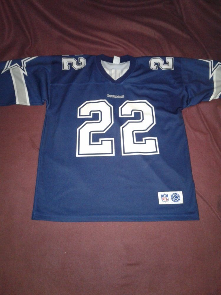 Cowboys NFL Away Jersey - E.Smith FRONT.jpg